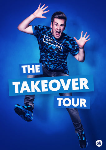 Takeover Tour Photo Poster