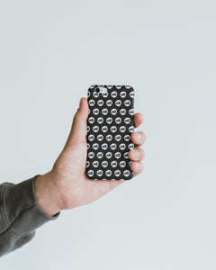 Black Logo iPhone Case
