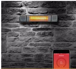 Solar Sound Bluetooth Infrared Heater with Speakers Model MUS1521