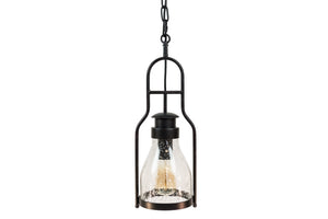 Lantern Pendant Light Wine Jug Glass - Muskoka Lifestyle Products