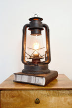Load image into Gallery viewer, Table lamp Lantern, lantern, rustic lamp, muskoka lifestyle products