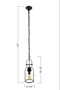 Milk Jug Glass Lantern Pendant Light - Muskoka Lifestyle Products