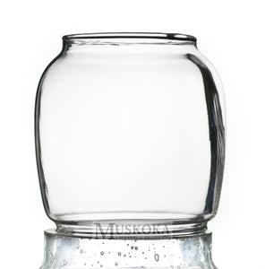 Small Hurricane Glass Clear MUS121