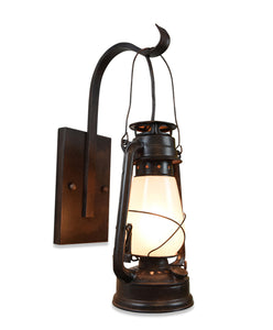 Electric Oil Lantern Wall Sconce Large By Muskoka Lifestyle Products Model MUS116