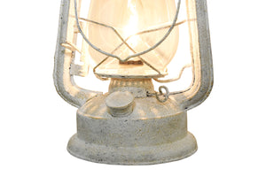 Rustic Lantern Wall Scone Mounted Light, Large Antique Rustic White