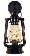 Load image into Gallery viewer, Rustic Lantern Large Black Wall Sconce Model MUS104