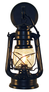 Rustic Lantern Wall Sconce Light - Small Rustic Model MUS101/ MUS102