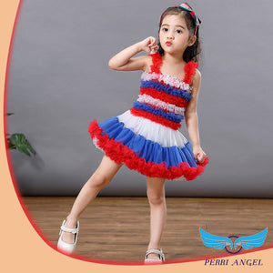 Lil Poppy Cascading Ruffle Dress