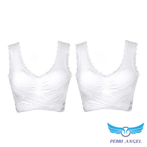 Criss-Cross Lift & Support Front Buckle Bra