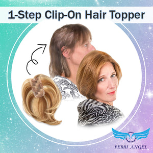 1-Step Clip-On Hair Topper