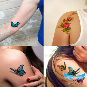 3D Body Art Temporary Tattoos