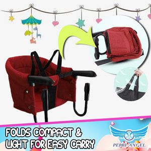 Hook-on Portable Baby High Chair