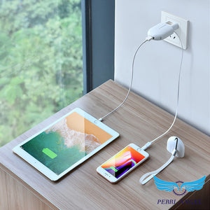 3-in-1 Data Line Wall Charger