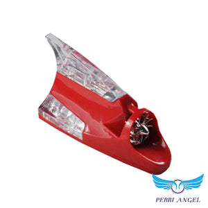 Wind-Powered Car Fin Warning Light