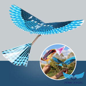 Soaring Auto-Flight Preying Bird