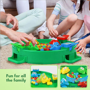 FunTastic Hungry Frog Marble Game
