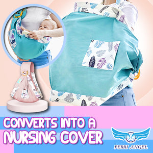 2-in-1 Convertible Baby Carrier & Nursing Cover
