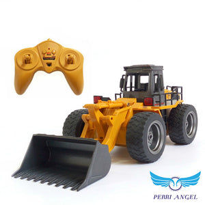 Alloy Construction Bulldozer RC Model