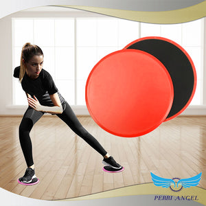 Fit@Home Gliding Disc Plates