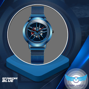 3D Chrome Rim Sports Watch