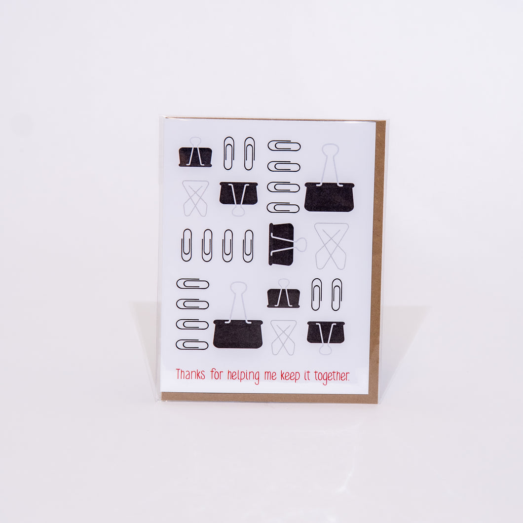 Keeping it Together Card