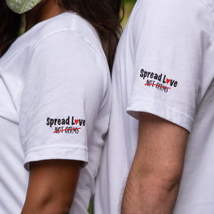 Spread Love Not Germs Tee