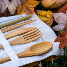 Load image into Gallery viewer, Bamboo Utensil Set