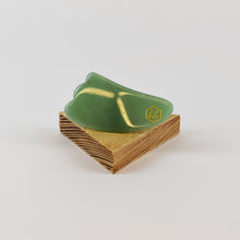 Load image into Gallery viewer, image of Green Gua Sha Facial Tool