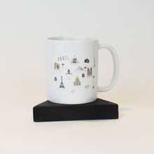 Load image into Gallery viewer, image of Mug with Paris design