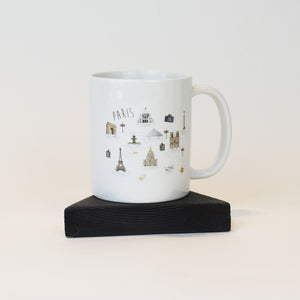 image of Mug with Paris design