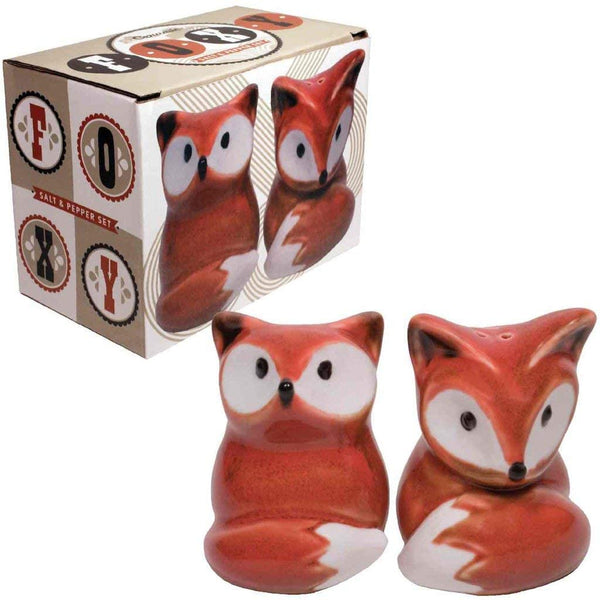 Fox Salt & Pepper Shakers