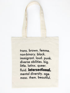 Intersectional Flat Muslin Tote