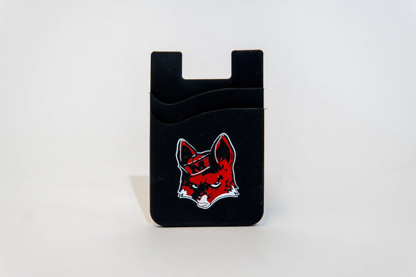 Angry Fox Double Pocket Phone Wallet