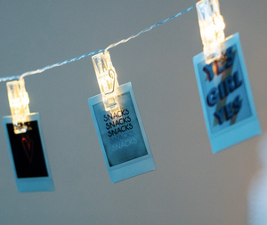 LED Photo Clip String Light