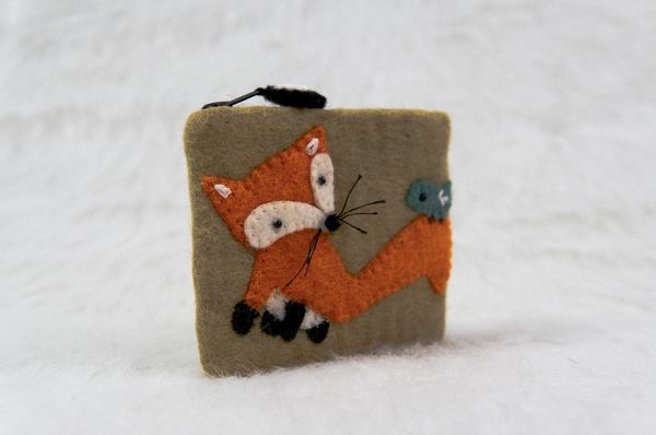 Fox Card Pouch