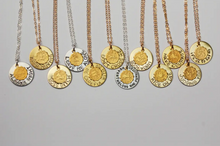 Load image into Gallery viewer, Quote Zodiac Necklace
