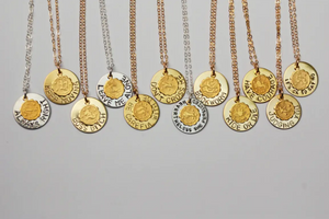 Quote Zodiac Necklace