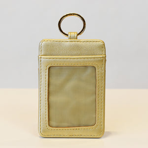 image of Gold ID Keychain back