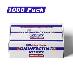 1000 Ultra Clean Touch Antibacterial SINGLE WIPES Hand Surface Sanitiser Cleaner