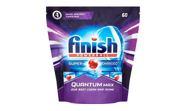 Finish Quantum Max Dishwasher Tablets 60 Tabs