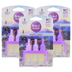 Perfect Scents Mystic Japan Air Freshener Refill - Compatible with 3volution