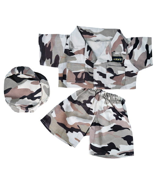 Army Uniform Desert Camouflage DCU (fits 15-16