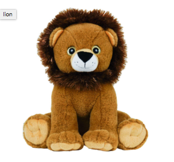 15 inch recordable plush Lion