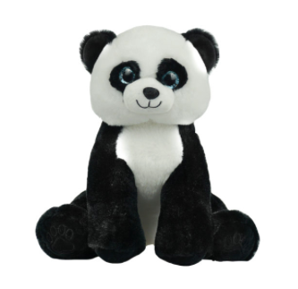 15 inch Panda Bear unstuffed animal kit
