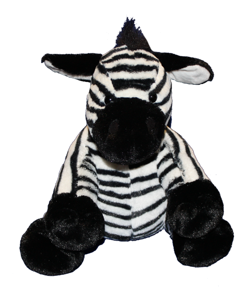 15 inch Zebra unstuffed animal kit