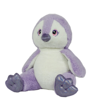 15 Inch Purple Penguin unstuffed animal kit