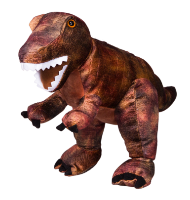 15 inch Recordable Red T-Rex Dinosaur