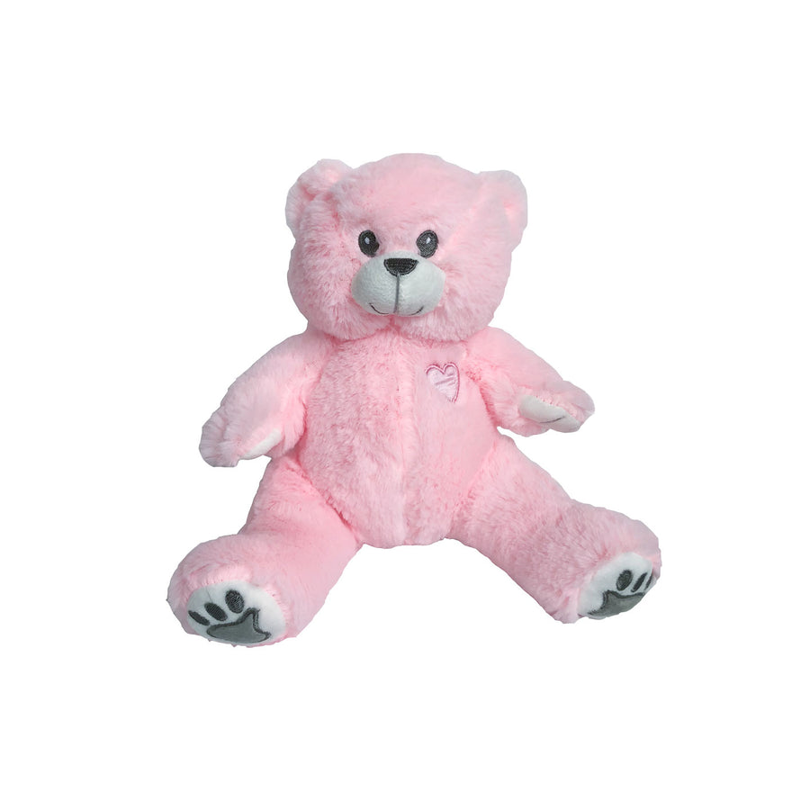 8 inch PINK recordable  ITS A GIRL gender reveal bear