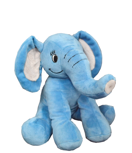 8 inch recordable BLUE elephant