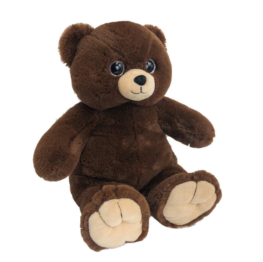 15 Inch Recordable Cuddle Bear With 30 Second Digital Recorder